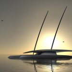 Futuristic Mayflower Autonomous Research Ship (MARS) Uses Only Renewable Energy Sources to Operate