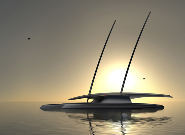 Mayflower Autonomous Research Ship (MARS) by Shuttleworth Design