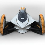 """Mazda KAAN"" Futuristic Electric Car Concept to Compete The E1 Races"