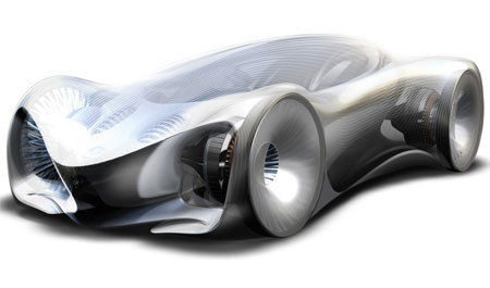 mazda souga futuristic car - Sports Cars 2030