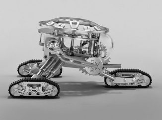 MB&F x L'Epée 1839 Grant Robot Clock Helps You Relax When Time Runs Too Fast