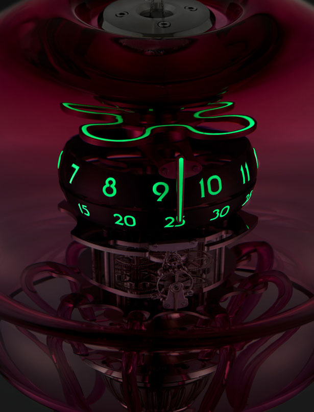 MB&F Medusa Clock Looks Like a Beautiful Jellyfish