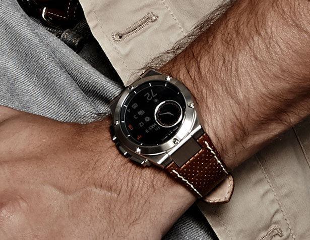 Hewlett-Packard MB Chronowing Smart Watch by Michael Bastian