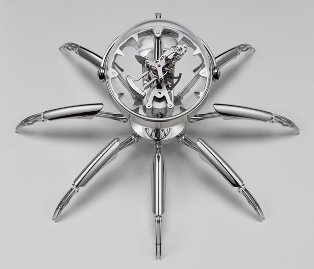 MB&F Octopod : Futuristic and Aquatic Theme Clock