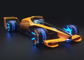 McLaren Future Grand Prix Concept Is Integrated with AI Technology