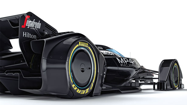 McLaren MP4-X Conceptual Vision for Future of Motorsport Technology