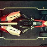 Mclaren MP6/P Formula 1 Concept Car for The Year of 2056