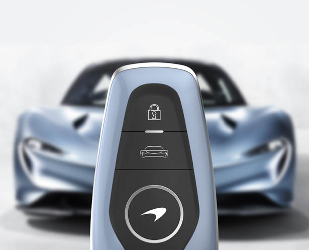 McLaren Speedtail Key Fob by Ryan Choi