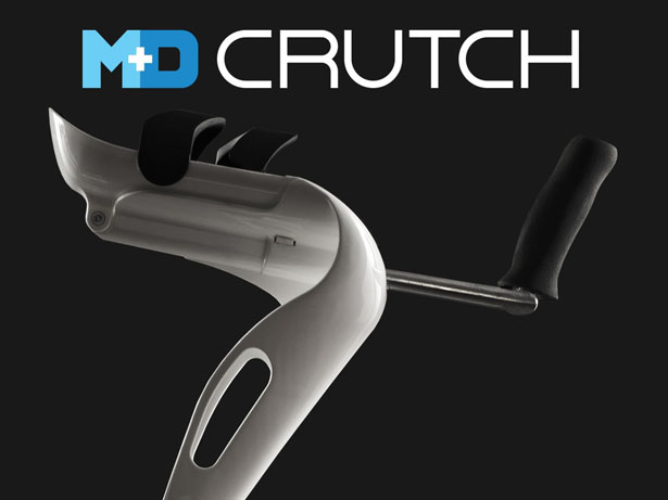 M+D Crutches: Stylish Elbow Crutches by Mobility Designed