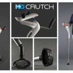 M+D Crutches: Stylish Elbow Crutches Allow Your Hands to Be Free