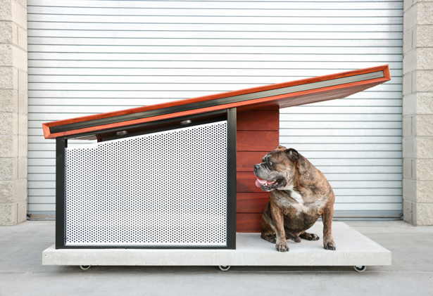 MDK9 Modern Dog House by RAH Design