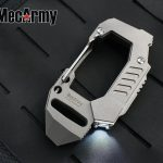 MecArmy FL10 Titanium EDC Flashlight Carabiner for Your Everyday Carry