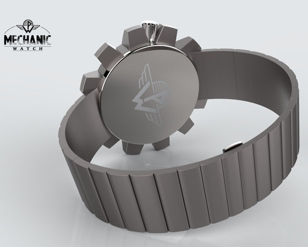 Mechanic Concept Watch by Patrick Weingartner
