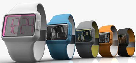 Mechanized Digital Brings The Face Of The Watch To Life Creating An Element Of Surprise