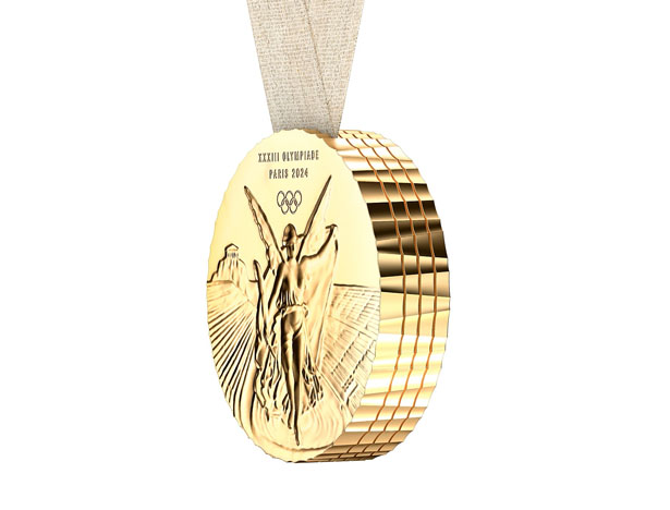 Paris 2024 Olympic Games Medal Is Made for Sharing by Philippe Starck