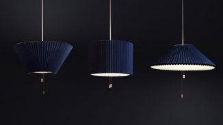 Méduse Lamp Features Cool, Adjustable LampShade to Suit Your Needs