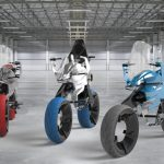 BMW Motorrad Sponsored Meilenjager Electric Motorcycle Concept by Arsalan Mughal