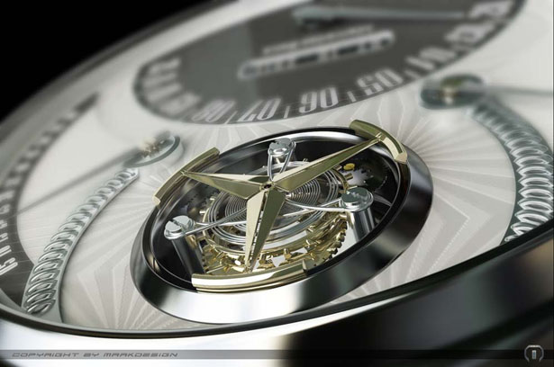 Mercedes 320 Tourbillon Watch by Marko Petrovic
