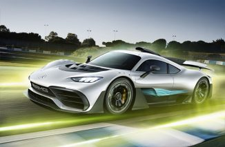 Mercedes-AMG Project ONE: Two-Seater Sportscar with Formula One Hybrid Technology