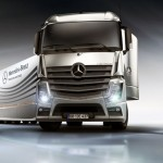 Mercedes-Benz Aero Trailer Concept : Drastically Reducing Wind Resistance and Fuel Consumption of Semitrailer Tractors