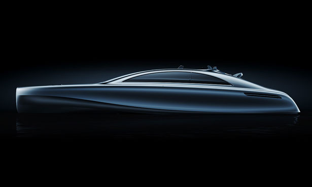 Mercedes Benz Arrow460-Granturismo Concept Yacht