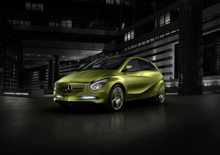 Mercedes Benz Eco-Friendly BlueZero Concept Car