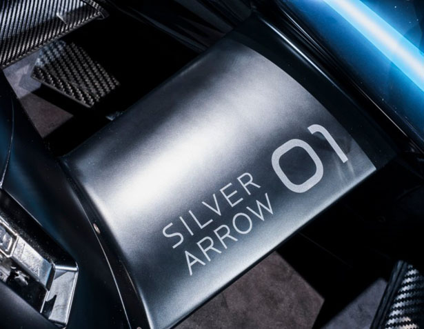 Mercedes-Benz EQ Silver Arrow 01 for Formula e-Car