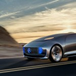 Futuristic Mercedes-Benz F 015 Luxury in Motion Research Car for Our Future Mobility