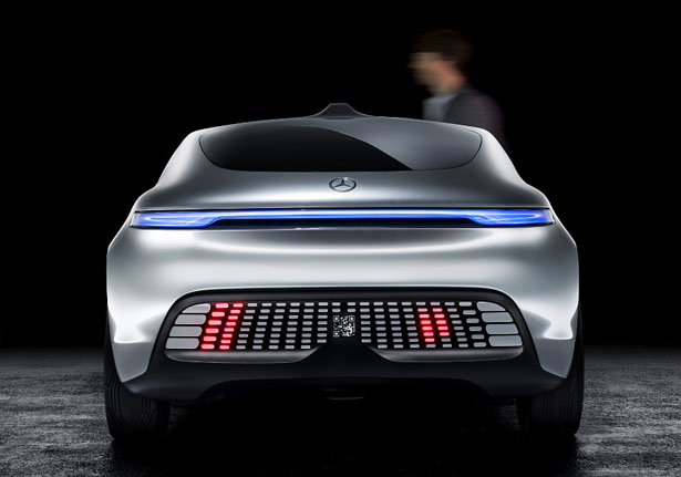 Mercedes-Benz F 015 Luxury in Motion Research Car - Autonomous Car