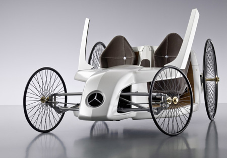 mercedes benz f cell roadster