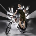 Mercedes-Benz High Quality Folding Bike with Shimano 8-Speed Gear and Disk Brakes