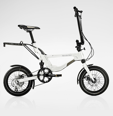 mercedes benz folding bike