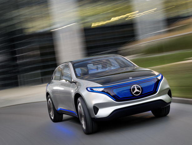 Mercedes Benz Generation EQ Concept Car
