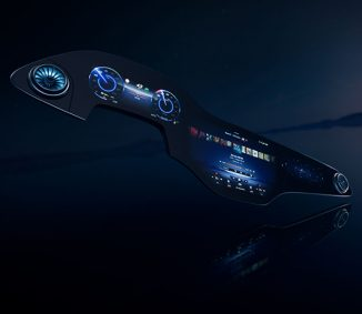 Mercedes-Benz Develops 56-Inch MBUX Hyperscreen for Its EQS Electric Cars