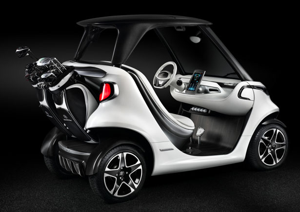 Mercedes Benz Golf Car for Garia