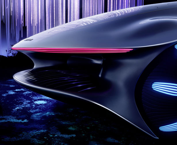 Futuristic Mercedes-Benz VISION AVTR Concept Vehicle