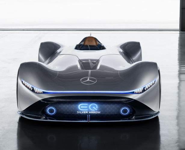 Mercedes-Benz EQ Silver Arrow Electric Car