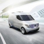 Futuristic Mercedes-Benz Vision Van Is A Future Vision of A Logistic Van with Fully Integrated System