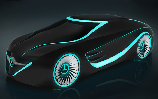 Mercedes Blackbird Tron