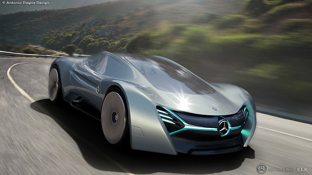 elk electric concept car a design proposal for mercedes benz tuvie. Black Bedroom Furniture Sets. Home Design Ideas