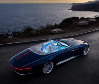 Vision Mercedes-Maybach 6 Cabriolet Concept Electric Car Features Sensual Design with a Sports Car Performance