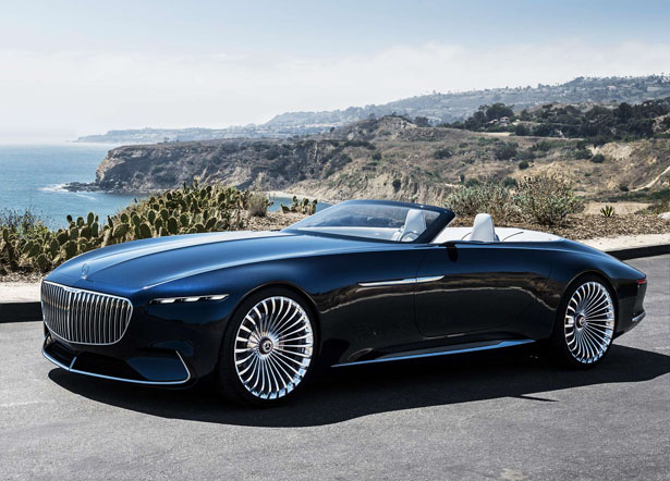 Mercedes-Maybach 6 Cabriolet Concept Electric Car