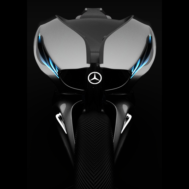 Mercedes One Class Revenge Motorcycle by Alfonso Nuñez Perea