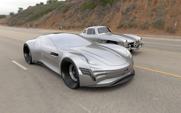 Mercedes SL|Pure Concept Car by Matthias Bottcher