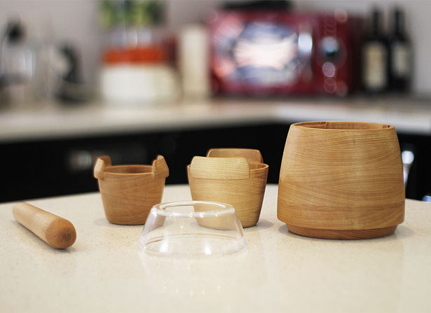 Mesto Multifunctional Mortar and Pestle