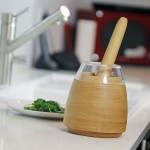Mesto Multifunctional Mortar and Pestle Enhances The Way You Flavor Your Food
