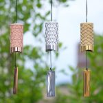Metal Wind Chime Design Features Distinct Pattern To Maximize Resonance and Sound Projection