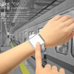 Metro Dot : Bracelet Transportation Card for Visually Impaired People