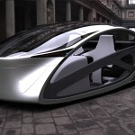 Metromorph Futuristic Concept Car with Balcony Mode Option