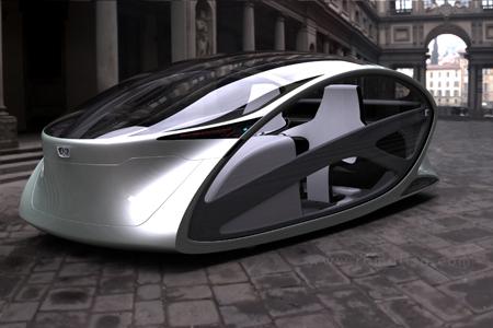 Metromorph Futuristic Concept Car with Balcony Mode Option